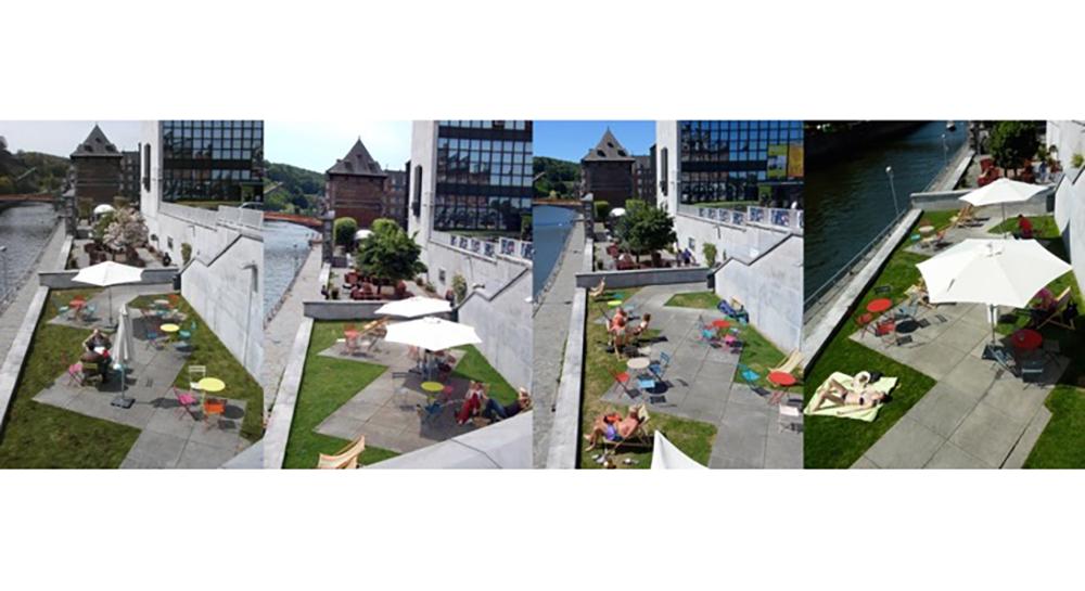 Namur – Réaménagement d'espace public