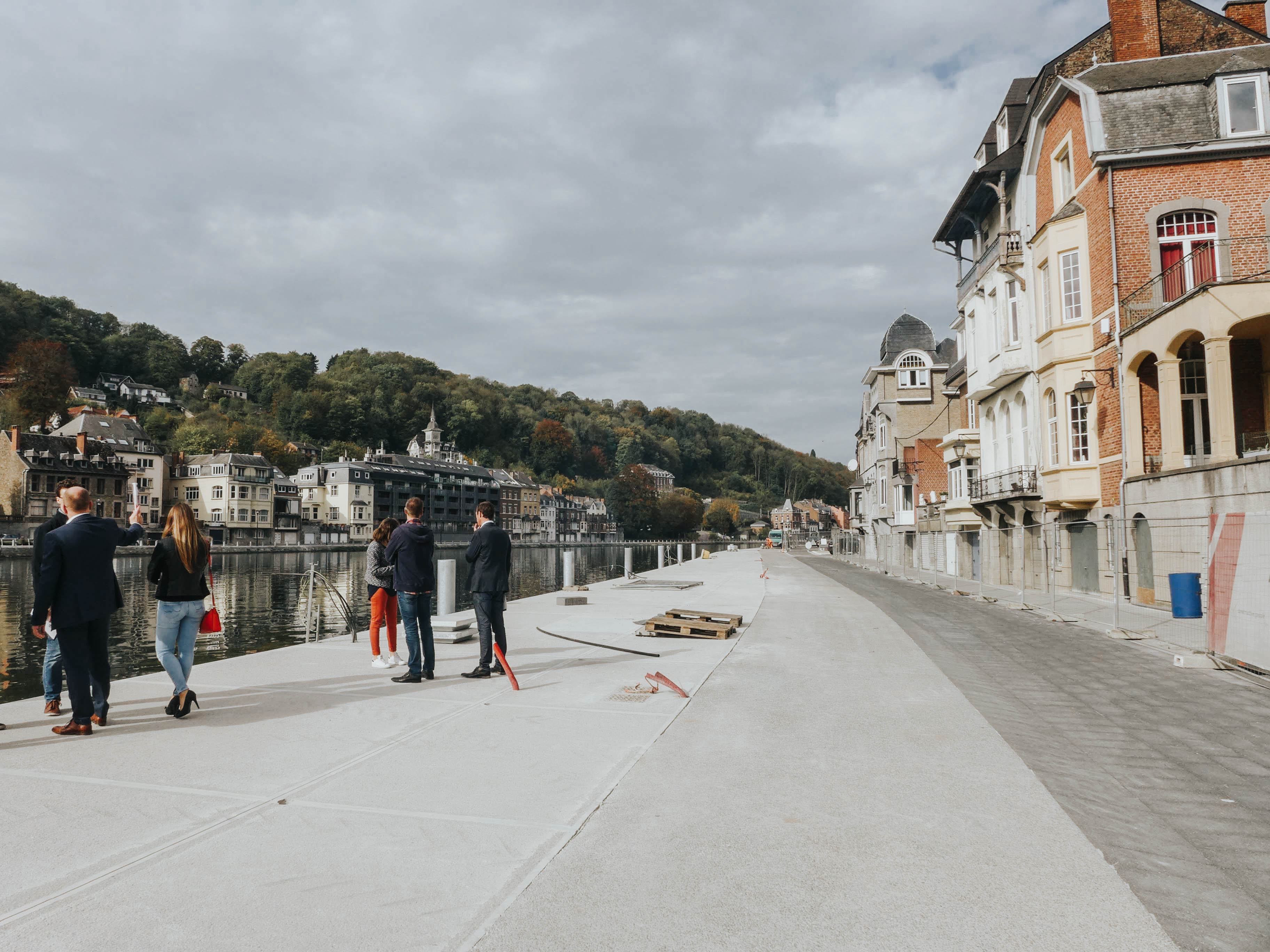 Dinant – Practical implementation of the action plan