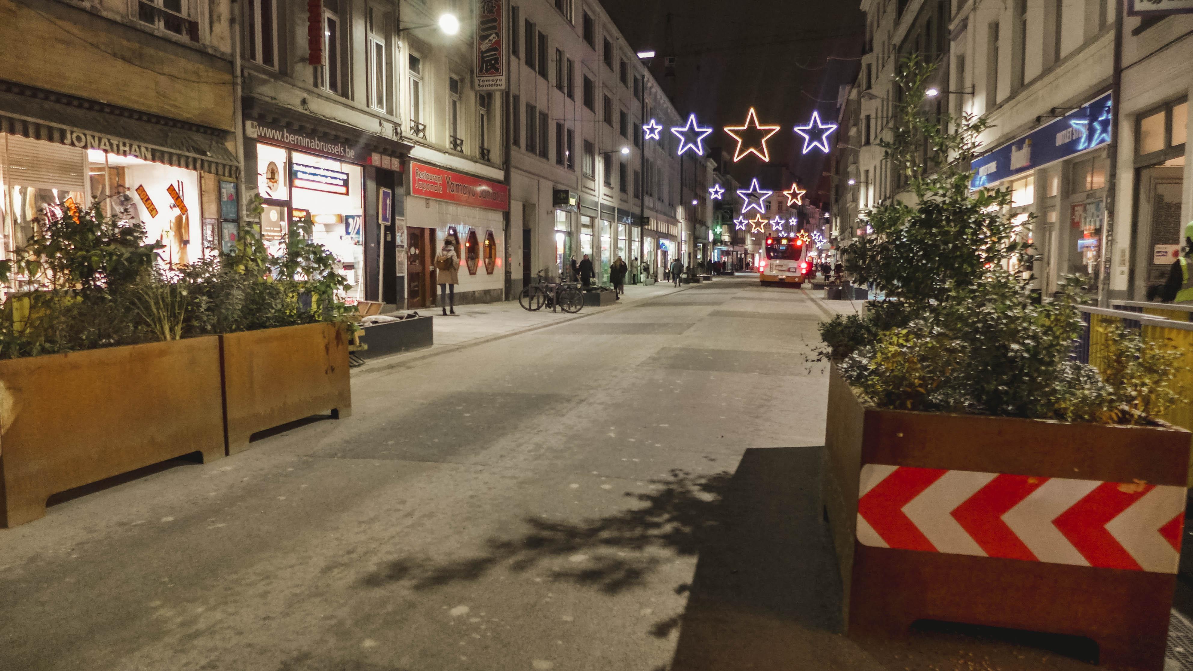 Bruxelles - Travaux