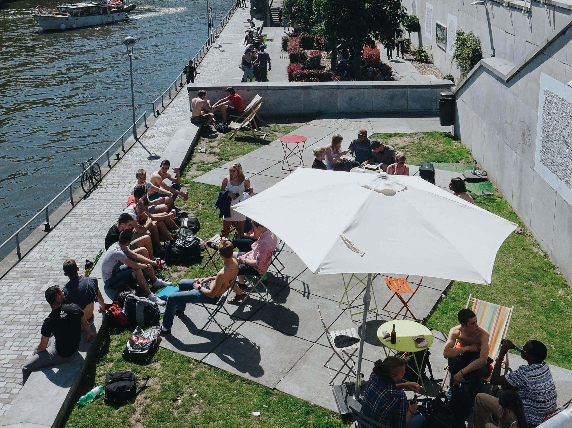 Namur – Redesign of public space