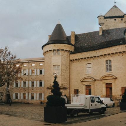 Aubenas, France - Action Cœur de Ville